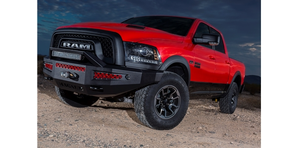 Break the mold with the new bumper for the RAM Rebel