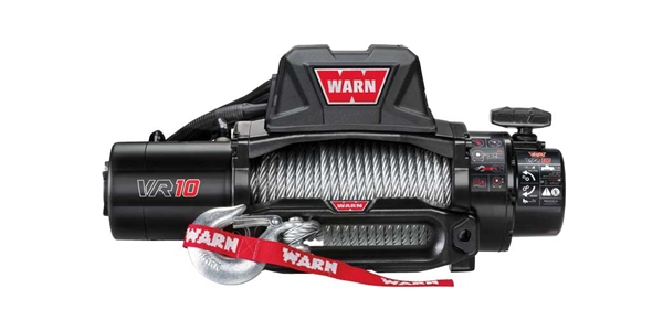 Warn VR Series 10,000lbs Electric Winch W/ Steel Rope
