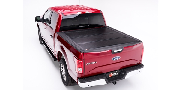 Are you looking for total cargo security? Gas savings? Look no further than the BAKFlip F1 hard-fold tonneau cover. Easy, no-fuss installation!