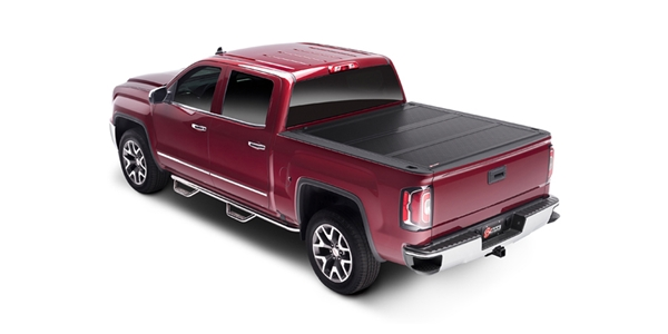 Are you looking for the perfect combination of the popular all aluminum BAKFlip G2 and the crown jewel of all tonneau covers, the F1? Then the BAKFlip Fibermax is the bed cover for you!