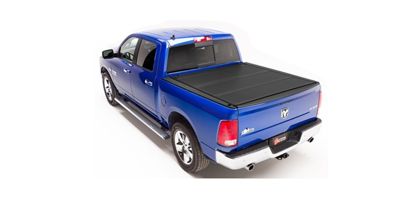 The BAKFlip MX4 is a top of the line truck bed cover manufactured right here in the USA. When it comes to tonneau covers, nobody does it better than BAK. BAK's covers are built to easily transition between work and play. The MX4 features heavy-duty aluminum matte finish panels that offer superior UV