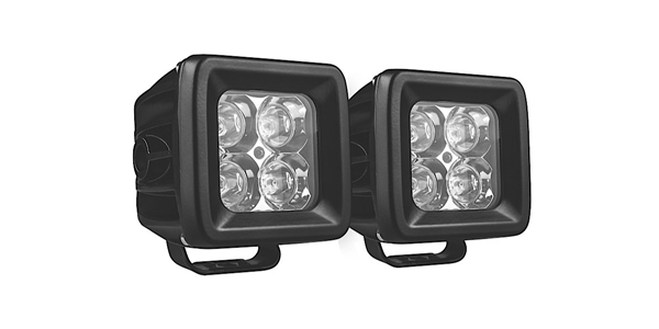 "ProMaxx Universal Dual Row 3"" 20W Spot Beam LED Lights, Generation 1 (LED2X2SPOT)."