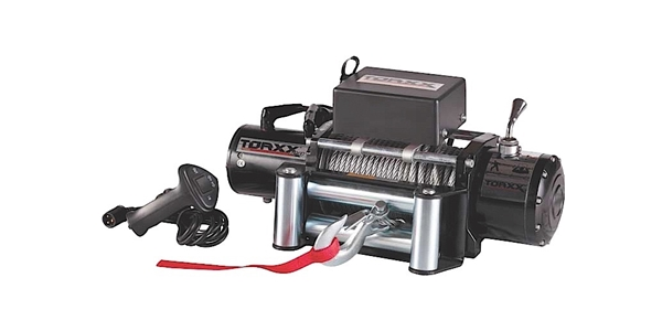 ProMaxx Torxx Series 12,500lbs Heavy Duty Winch W/ Wire Rope