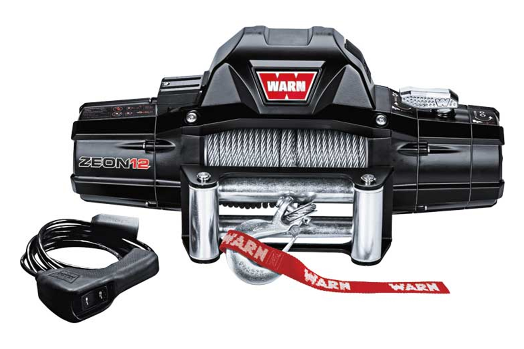 Warn Zeon 12,000lbs Electric Winch W/ Wire Rope