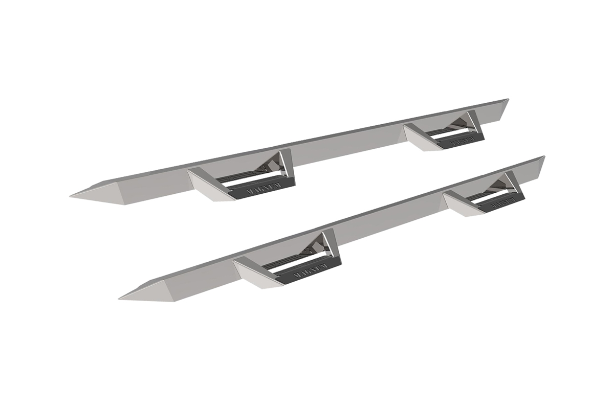 Magnum RT Steps - Stainless Steel - Cab Length