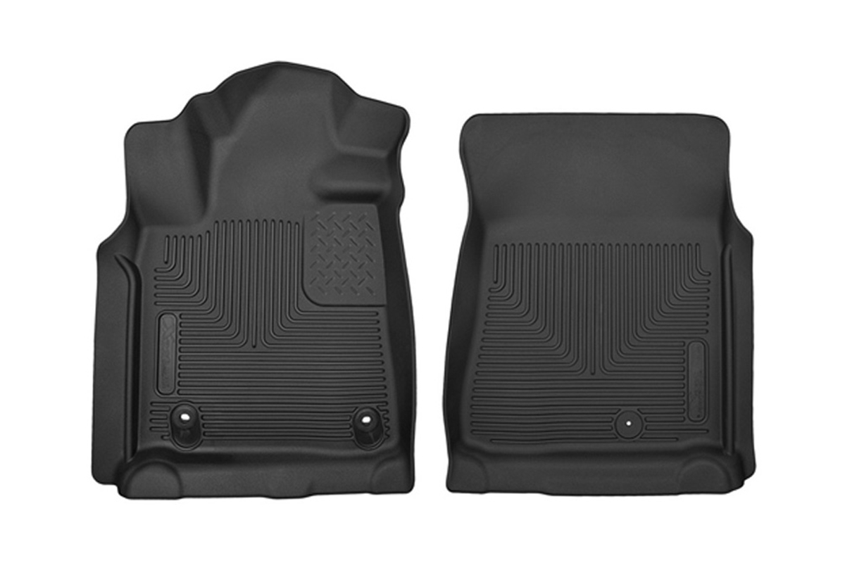Husky Liners X-Act Contour Front Row Floor Liners - Black